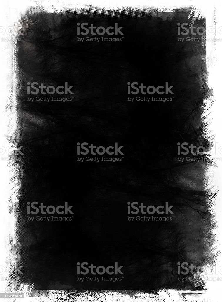 Grunge border and background royalty-free stock photo