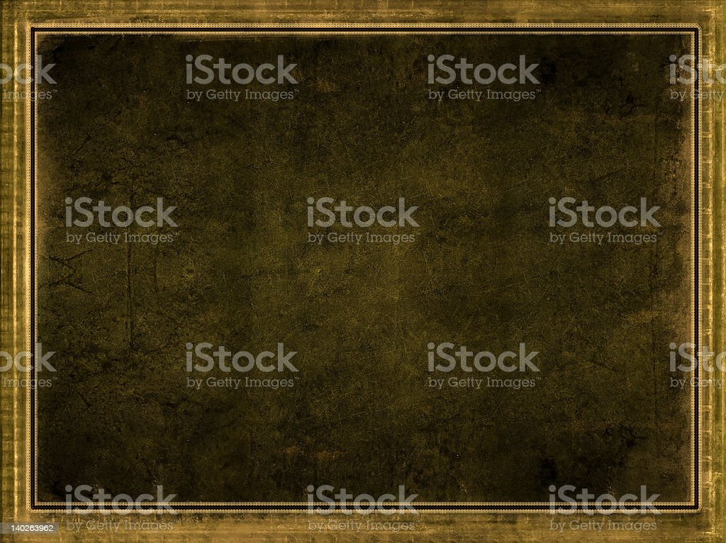 Grunge border and background royalty-free stock vector art