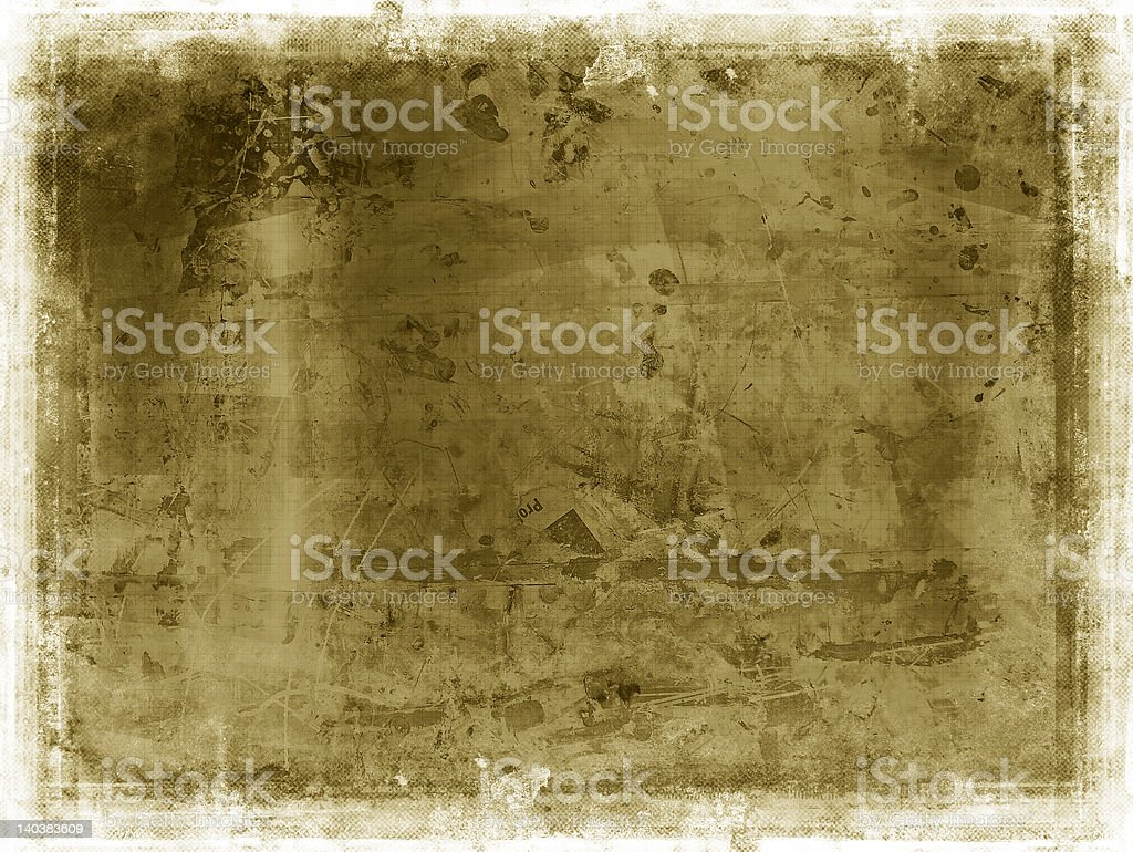 Grunge border and background royalty-free stock photo