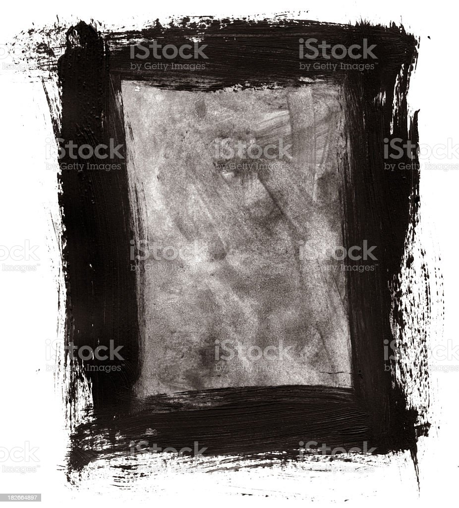 Grunge Border Background stock photo