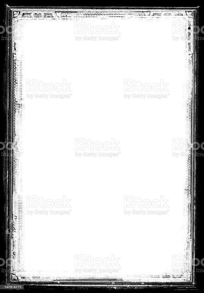 Grunge Border XL stock photo
