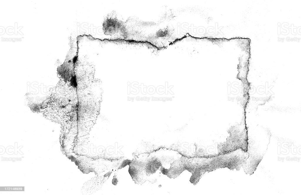grunge box stain stock photo