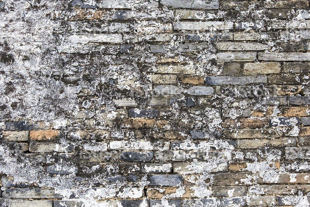 grunge  Brick Wall Background royalty-free stock photo