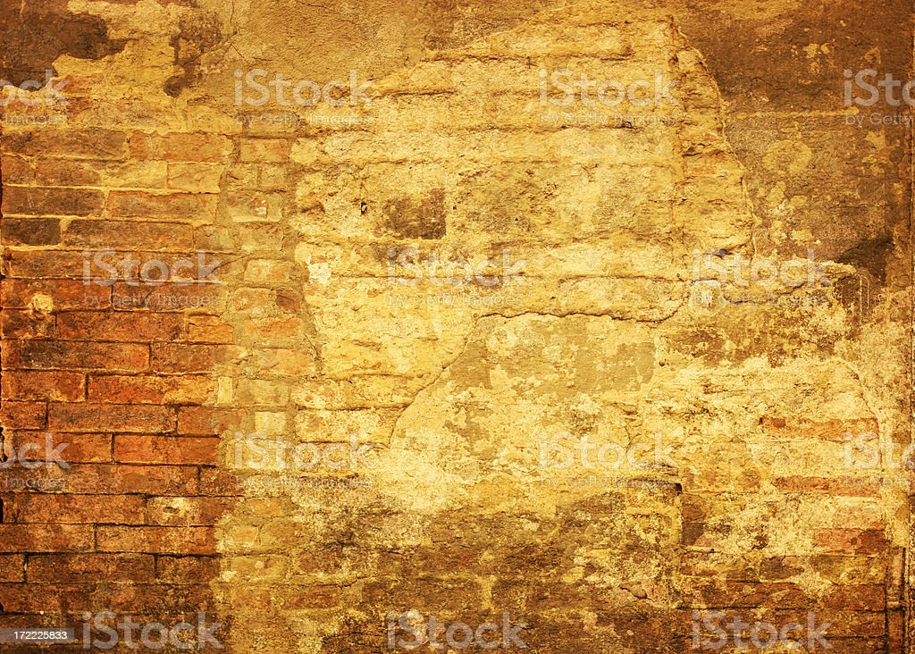 Grunge Brick Wall royalty-free stock photo