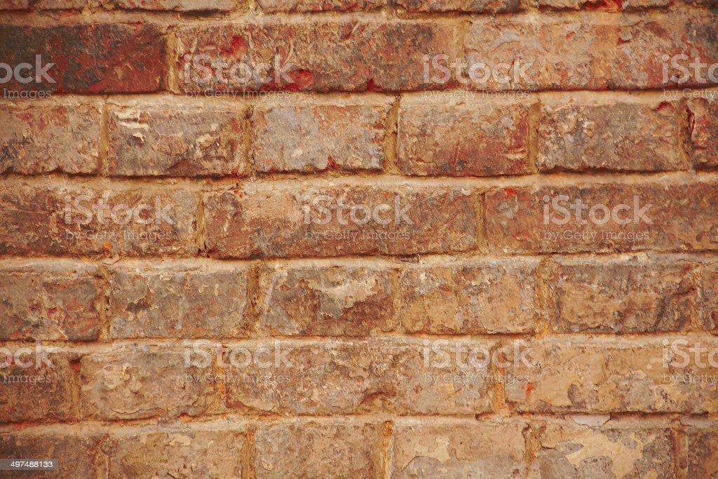 Grunge brick wall royalty-free stock photo