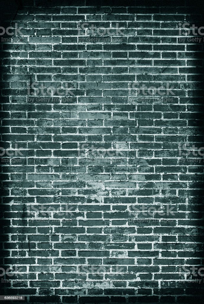 Grunge brick wall textured background stock photo