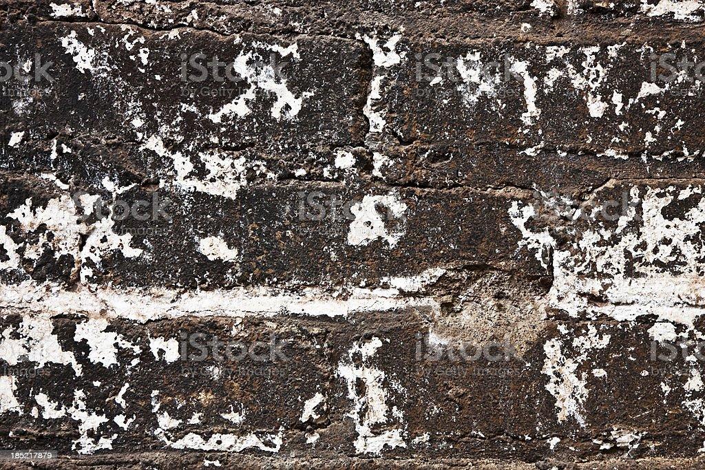 Grunge Brick Wall XXXL Background royalty-free stock photo