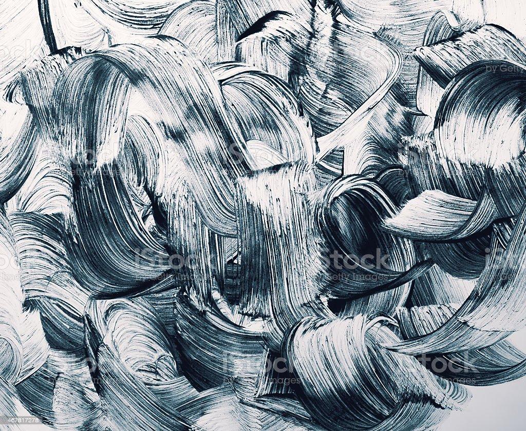 grunge brush strokes background stock photo