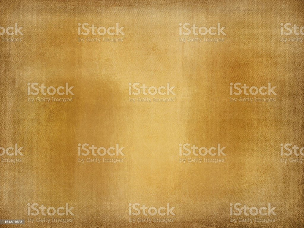 Grunge canvas texture gold royalty-free stock photo