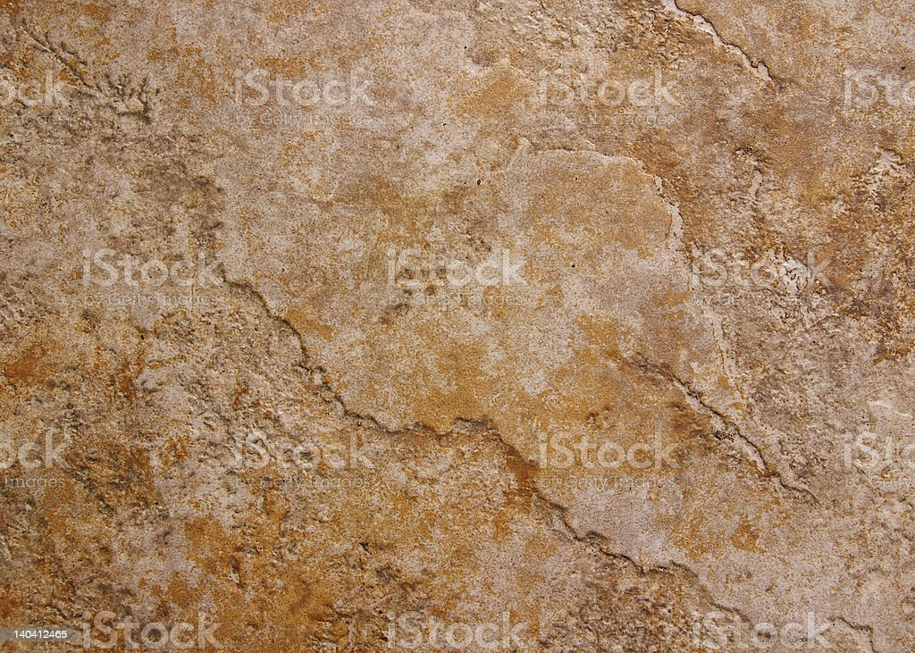 Grunge ceramic step stone royalty-free stock photo
