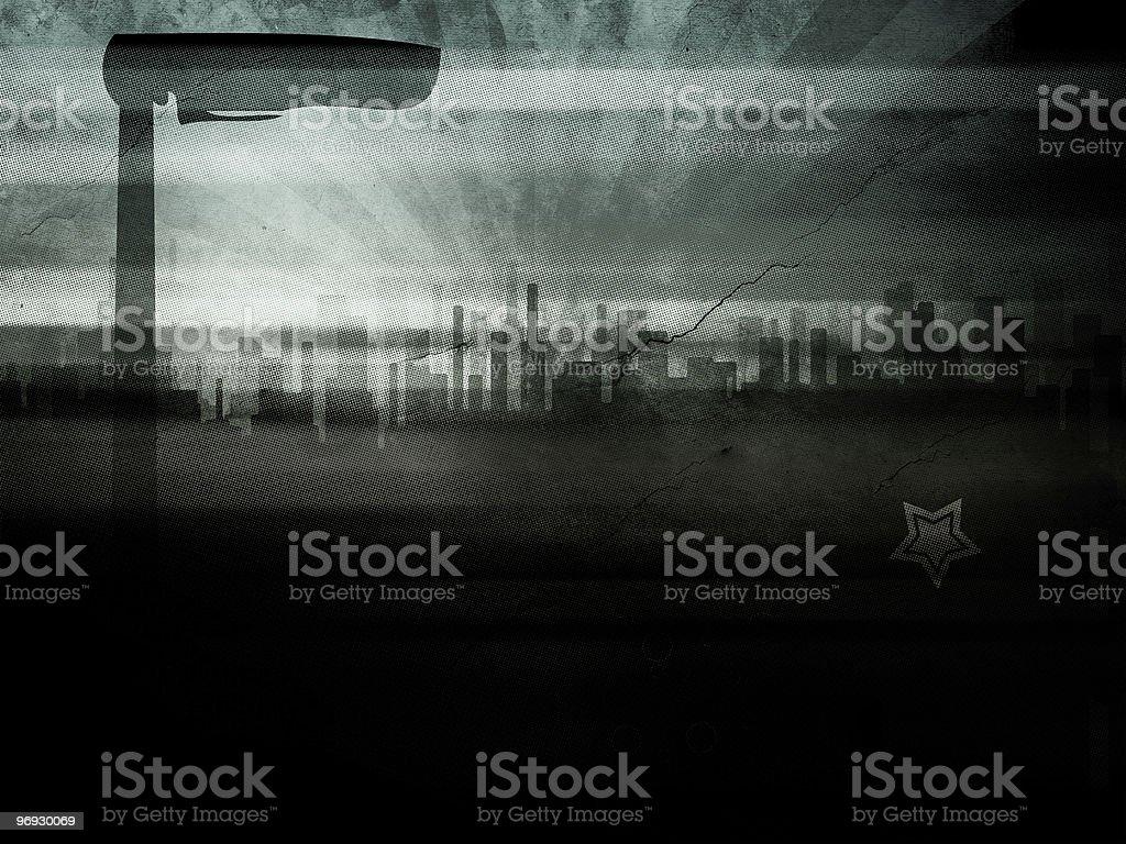 Grunge City stock photo