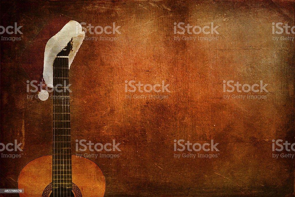 Гранж Классическая гитара Стоковые фото Стоковая фотография