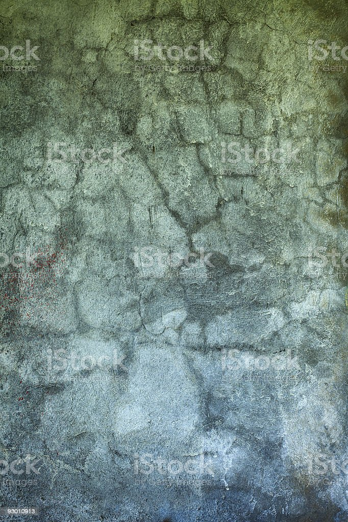 Grunge concrete wall with old paint royalty-free stock photo