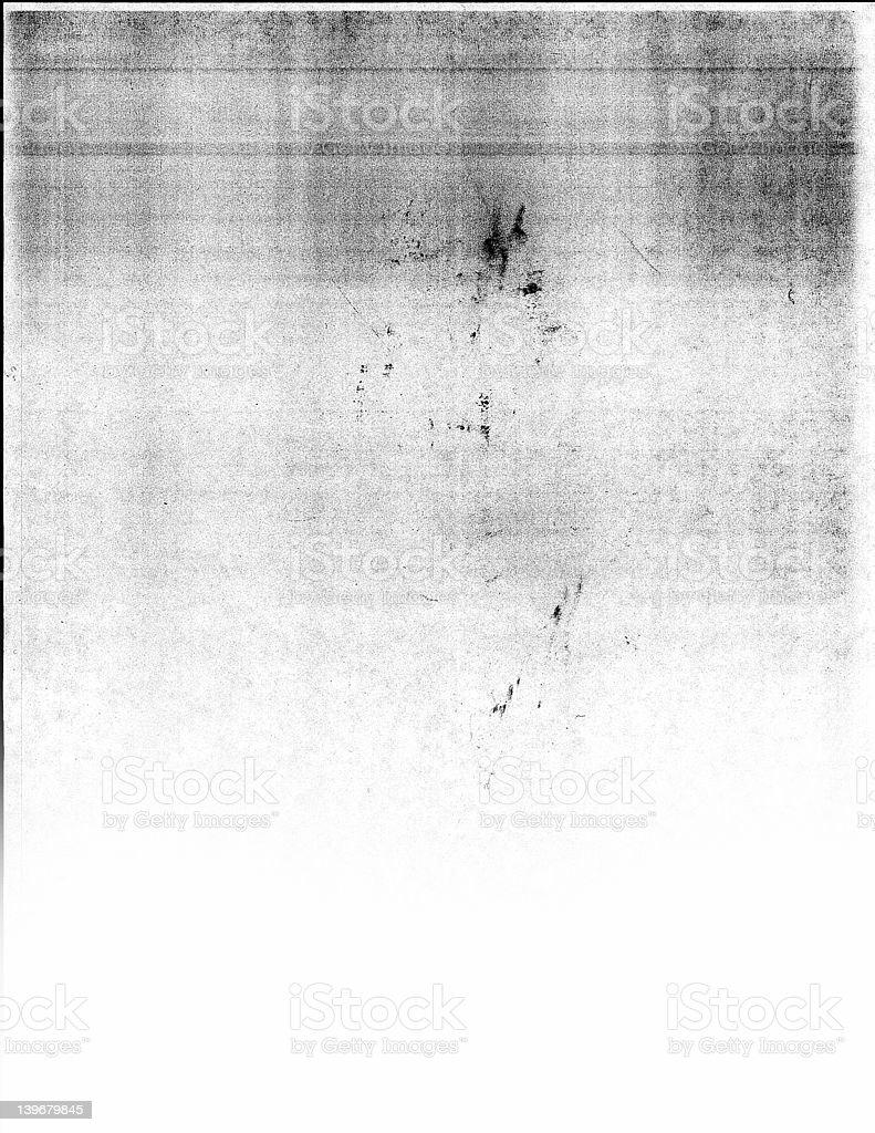 Grunge copy machine texture stock photo
