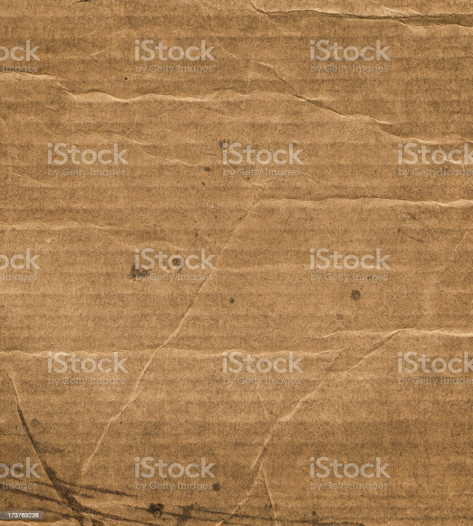 grunge corrugated cardboard royalty-free stock photo