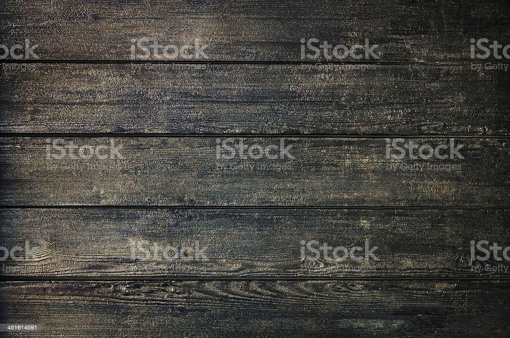 Grunge dark wood texture or background shimmer stock photo