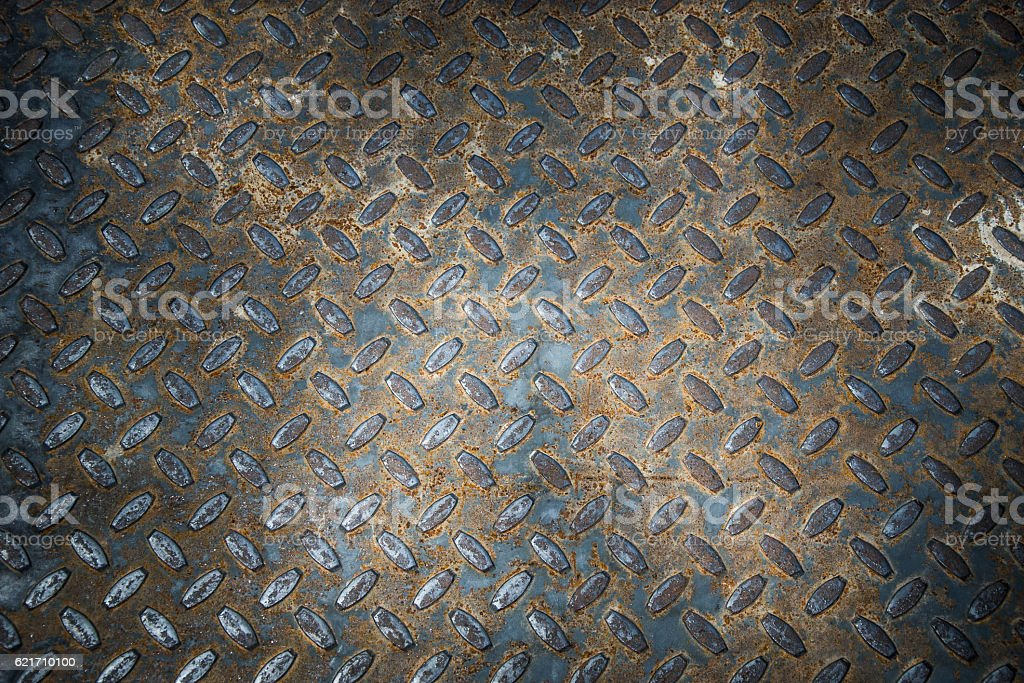 grunge diamond metal background stock photo