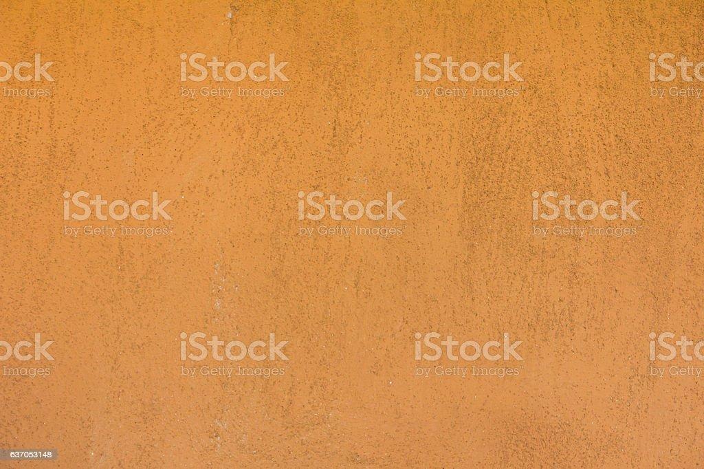 Grunge dirty orange brown wall texture background stock photo
