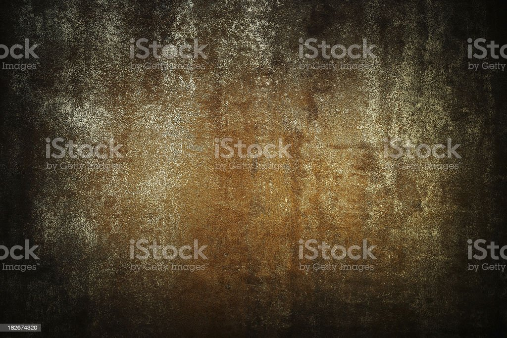 Grunge distressed metal stock photo