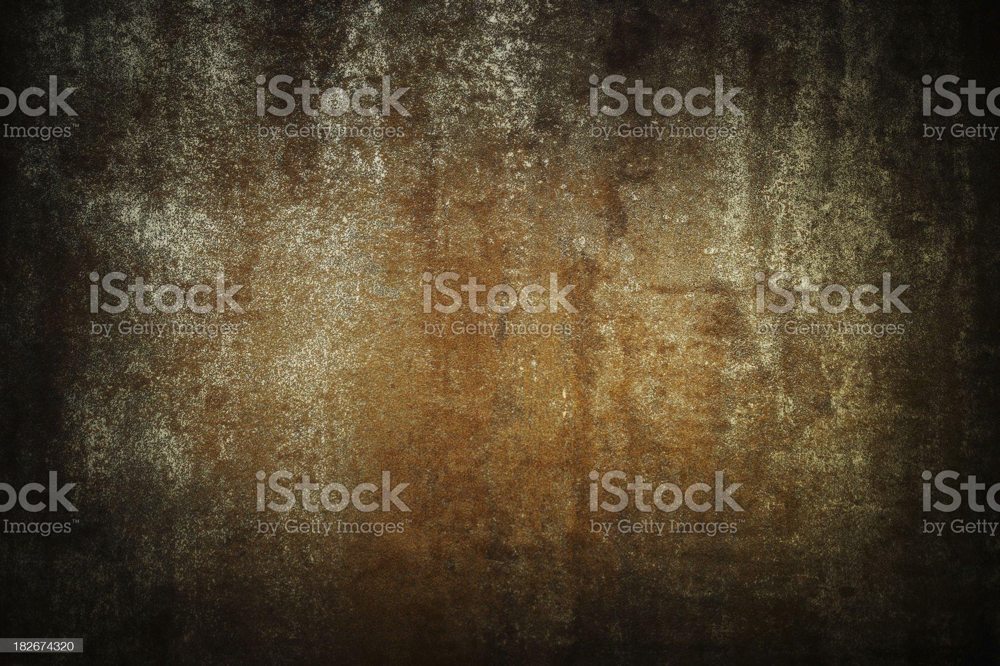 Grunge distressed metal royalty-free stock photo