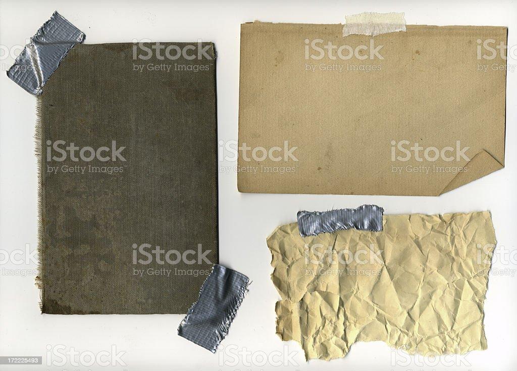 Grunge Elements 2 (XXL) royalty-free stock photo