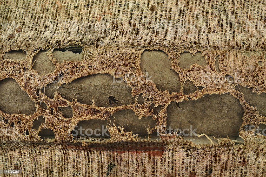 Grunge Fabric. royalty-free stock photo