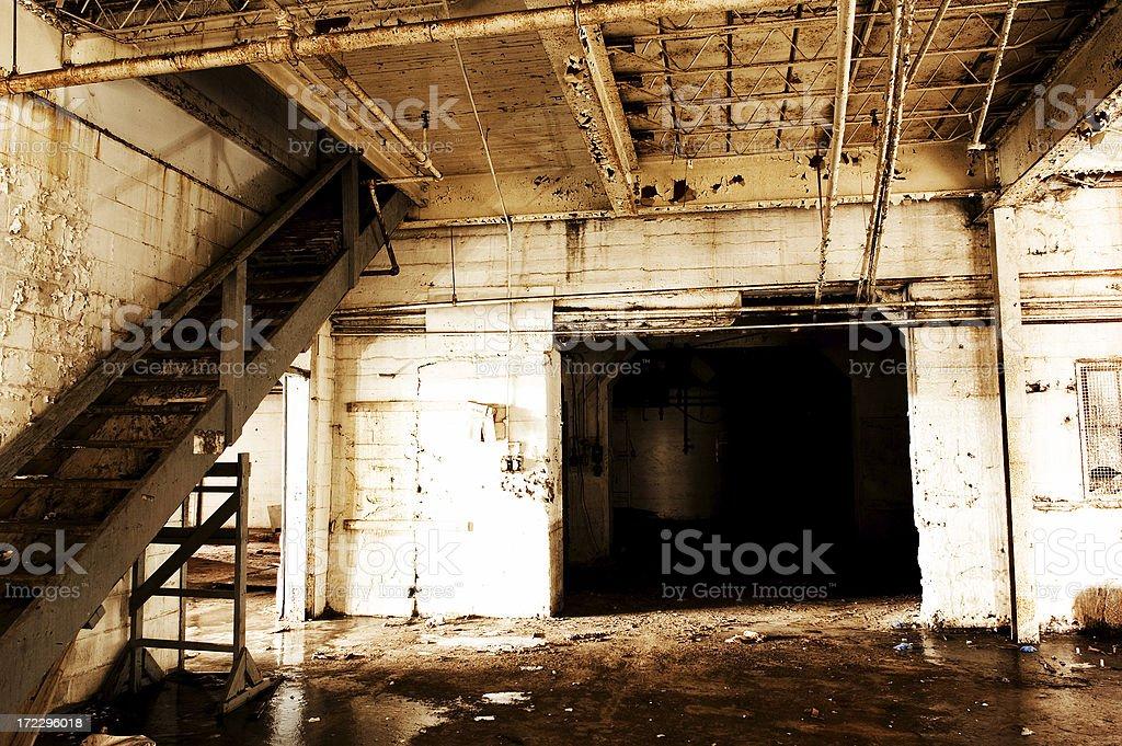Grunge Factory royalty-free stock photo