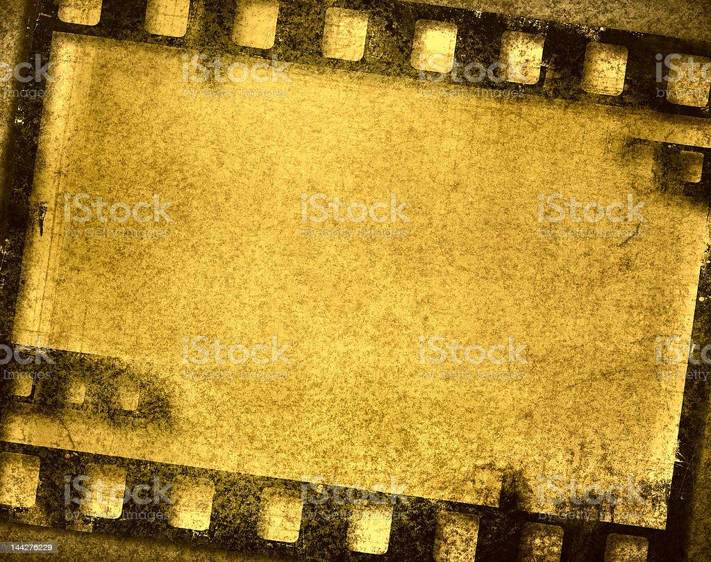 grunge film frame royalty-free stock photo