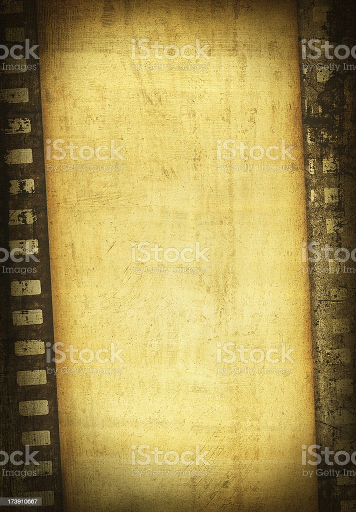 Grunge Film stock photo