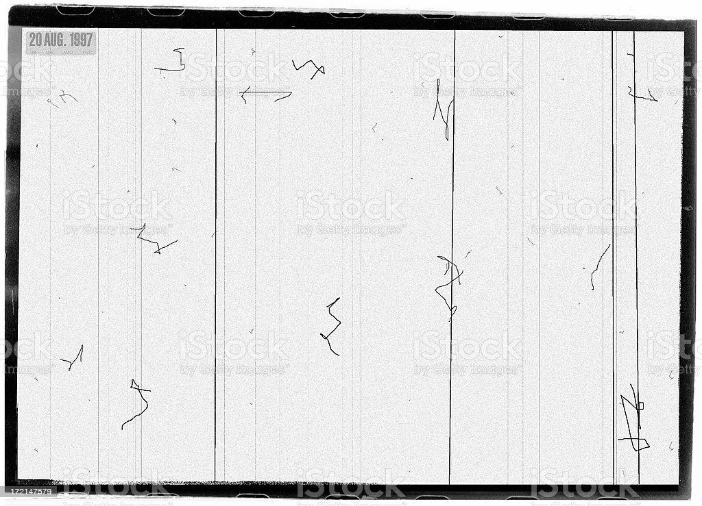 Grunge Film Response Layer stock photo