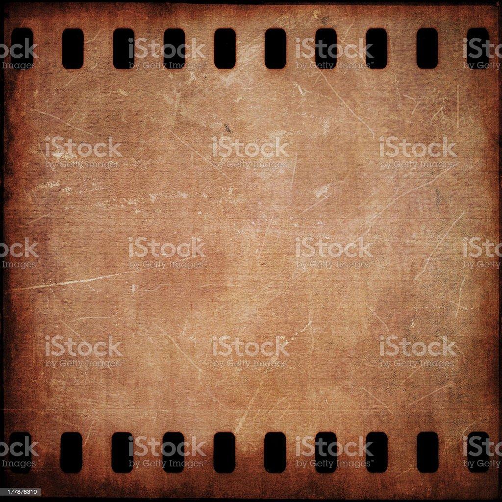 Grunge film strip frame royalty-free stock photo