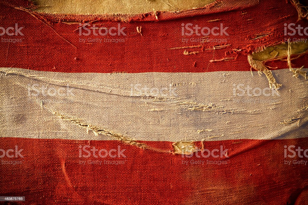 Grunge Flag of Austria royalty-free stock photo