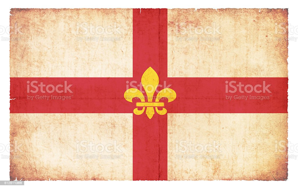 Grunge flag of Lincoln (Great Britain) stock photo