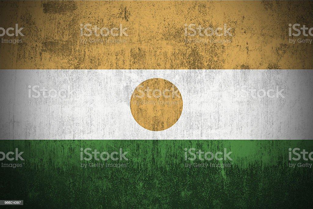 Grunge Flag Of Niger royalty-free stock photo