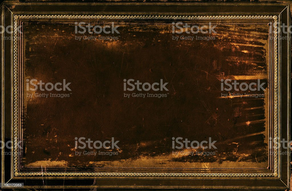 Grunge Frame Background royalty-free stock photo