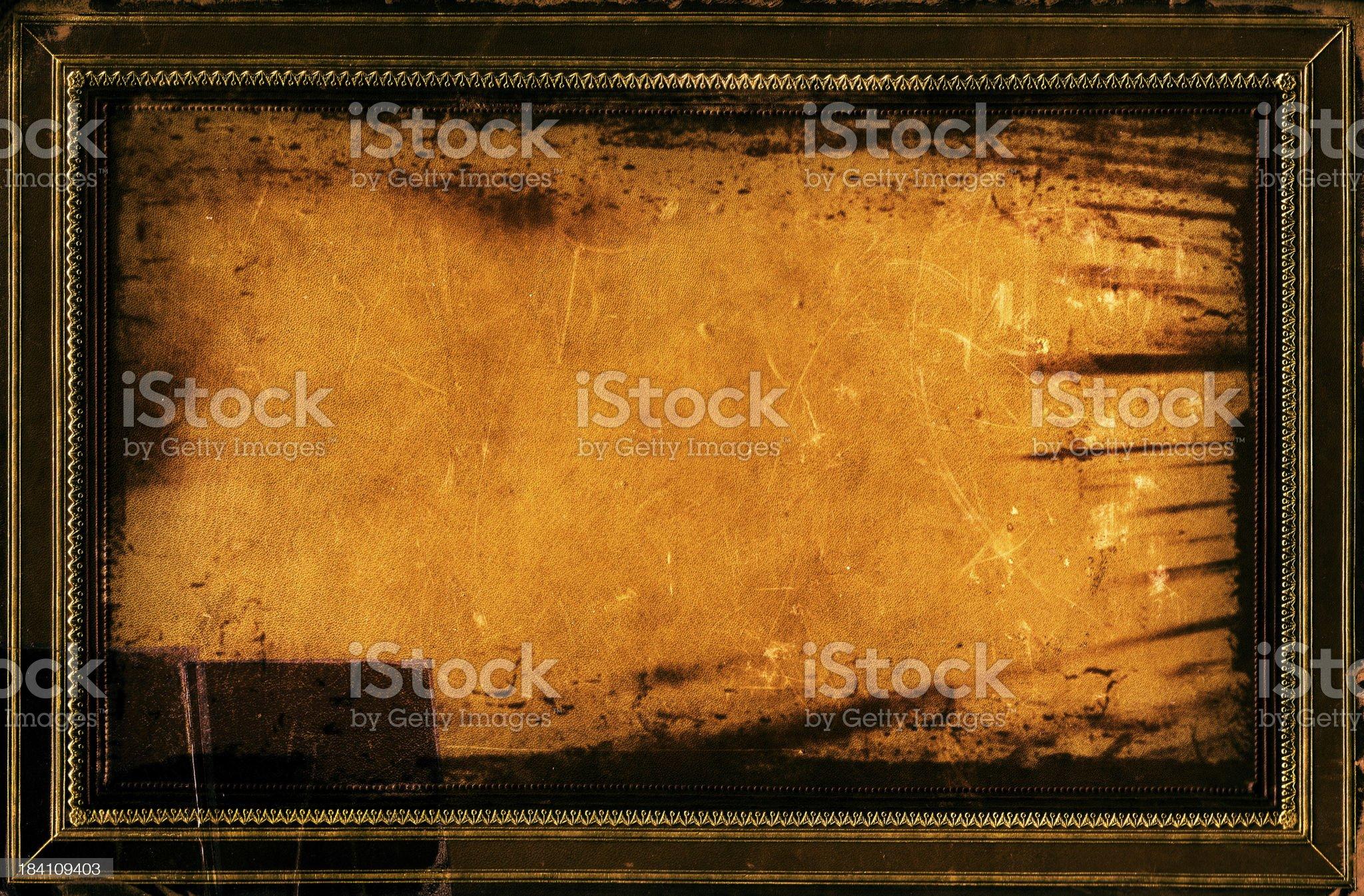 Grunge Frame Background royalty-free stock photo
