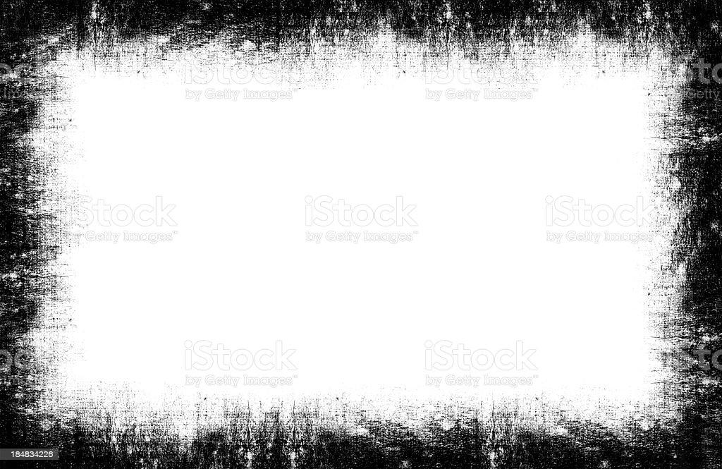 Grunge Frame background textured isolated stock photo