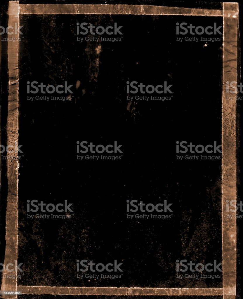 grunge frame black stock photo