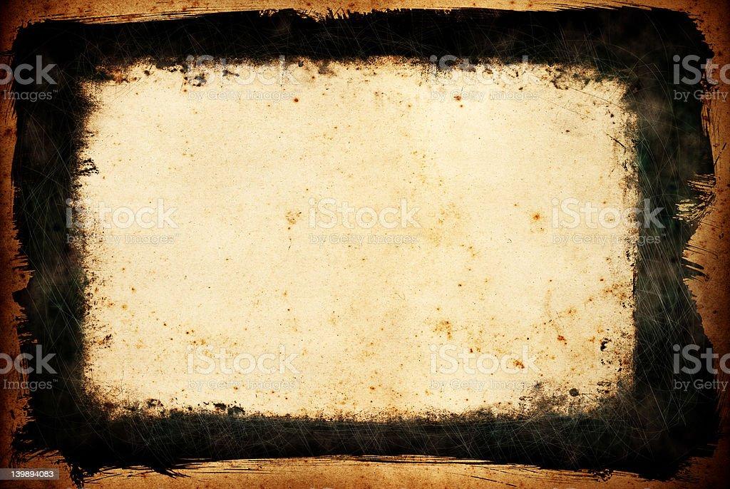 Grunge Frame Element royalty-free stock photo