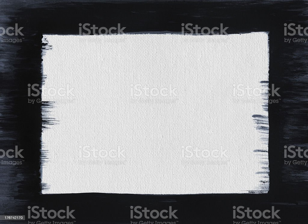 Grunge Frame Paint royalty-free stock photo