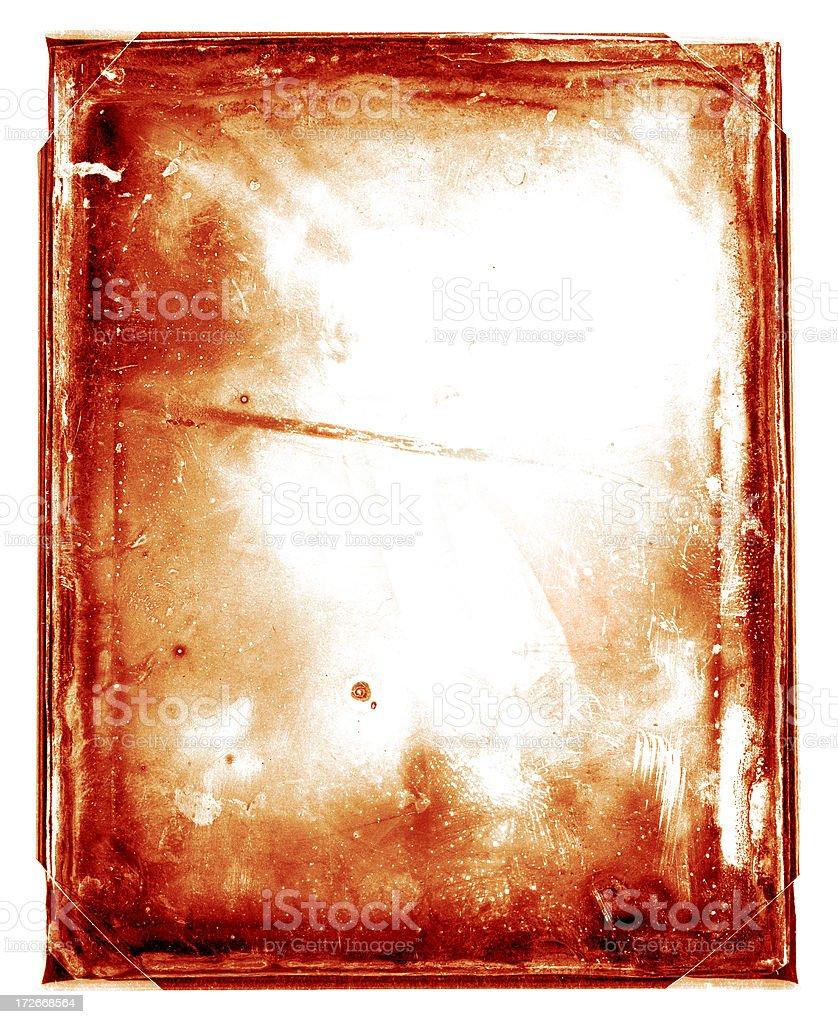 grunge frame paper stock photo