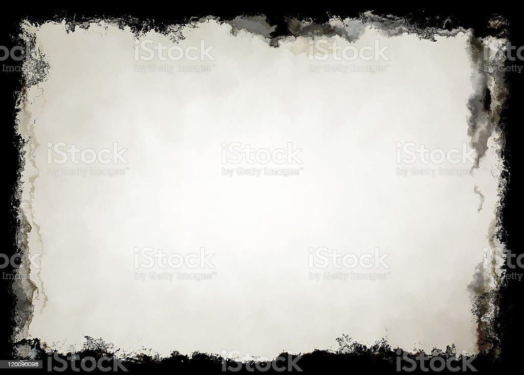 Grunge Frame (Hi Res) royalty-free stock photo