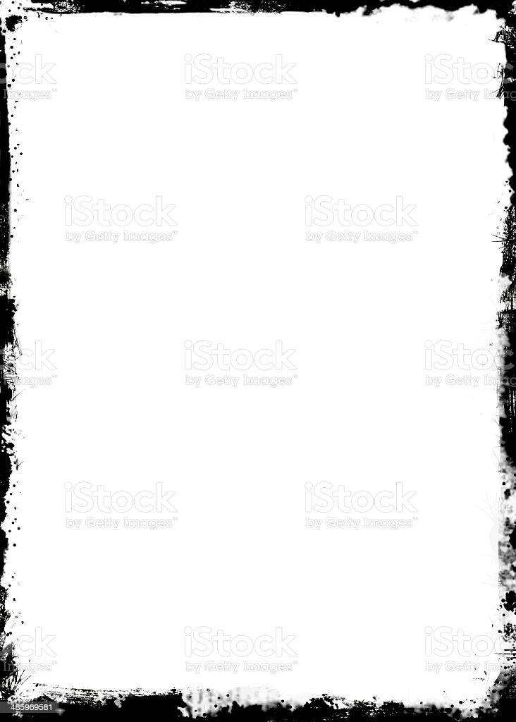 Grunge frame stock photo