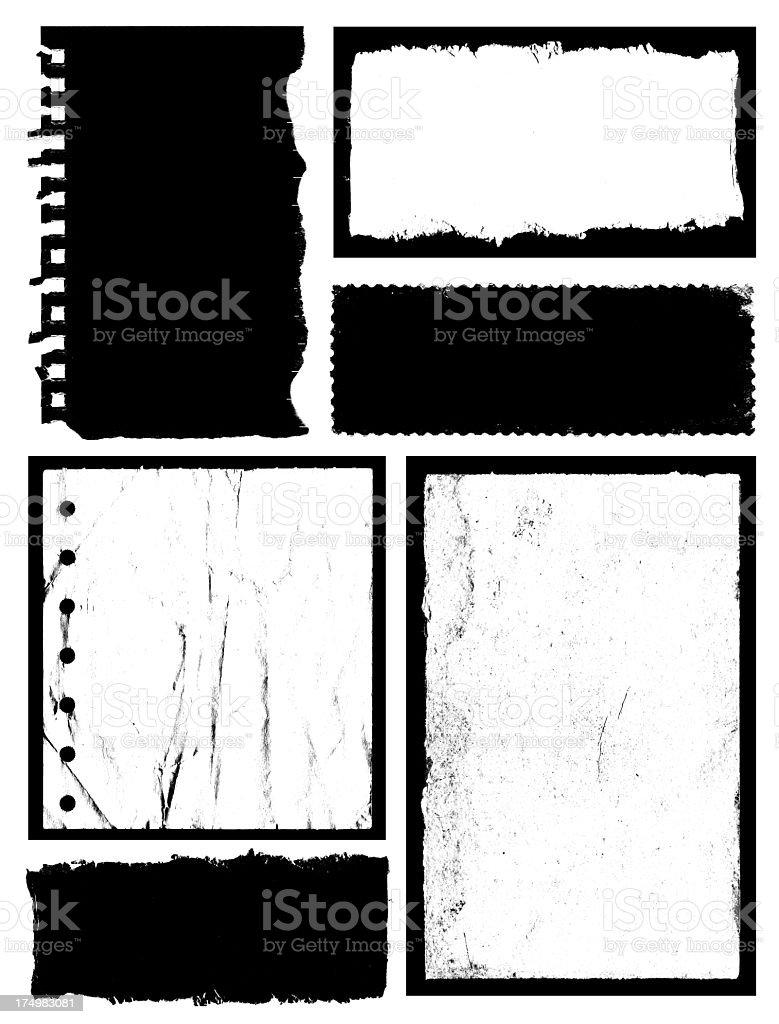 Grunge Frame & Textured background royalty-free stock photo