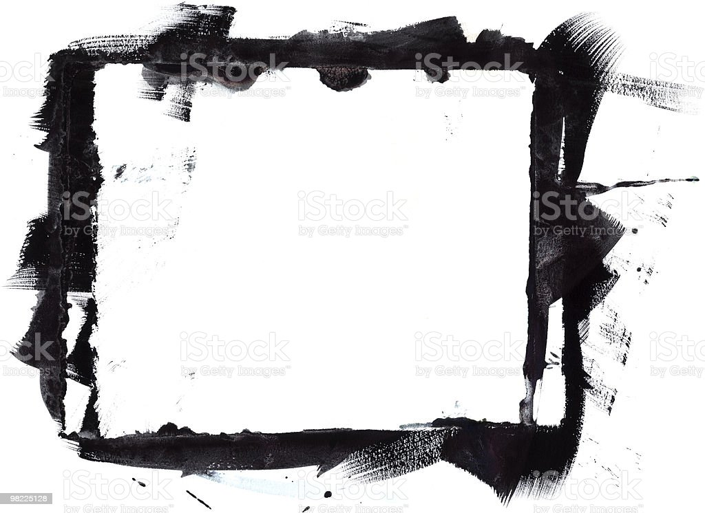 Grunge Frame XXL royalty-free stock photo