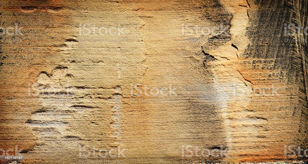 Grunge gold color stone on Parliament Hill royalty-free stock photo