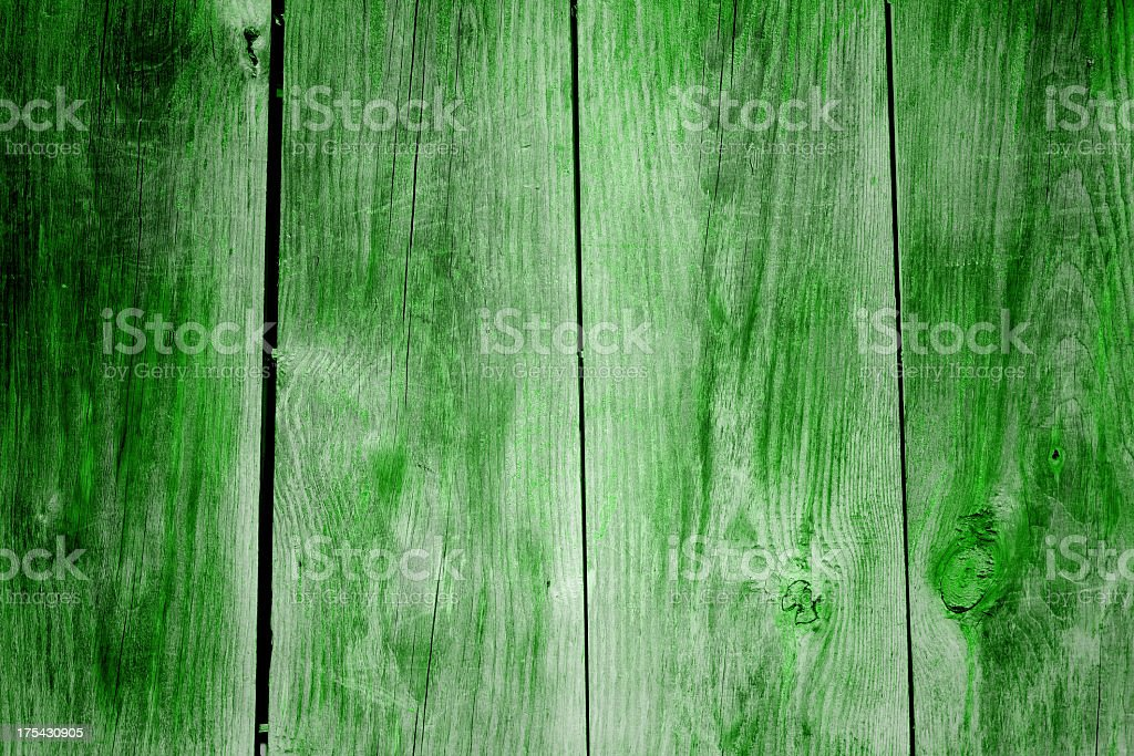 Grunge green wood texture background royalty-free stock photo