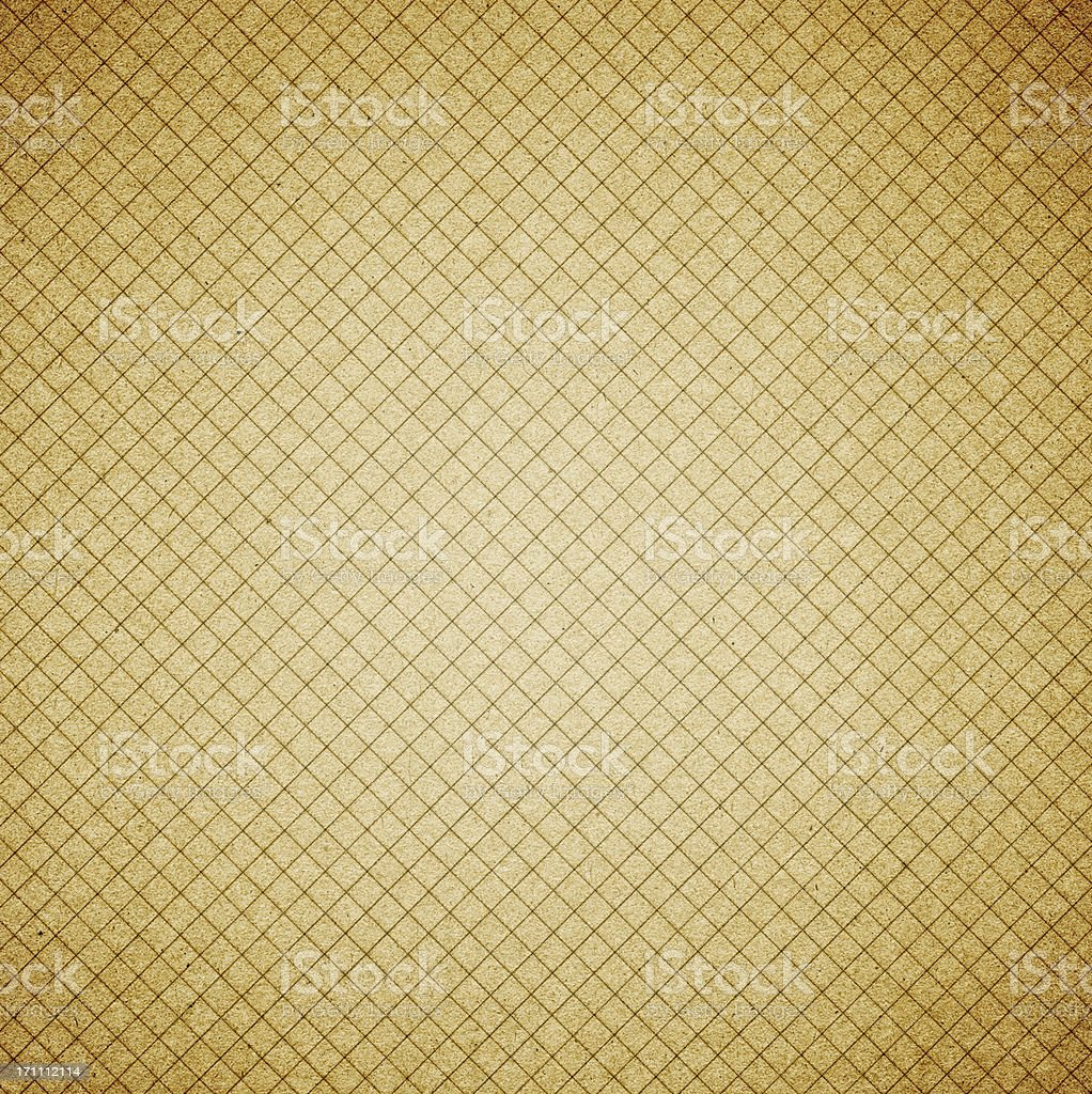 Grunge grid paper backgroud royalty-free stock photo
