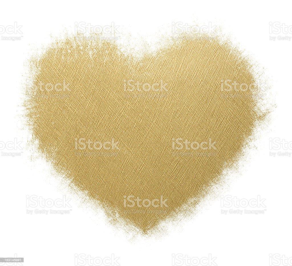 Grunge Heart-shaped Frame isolated on white background royalty-free stock photo