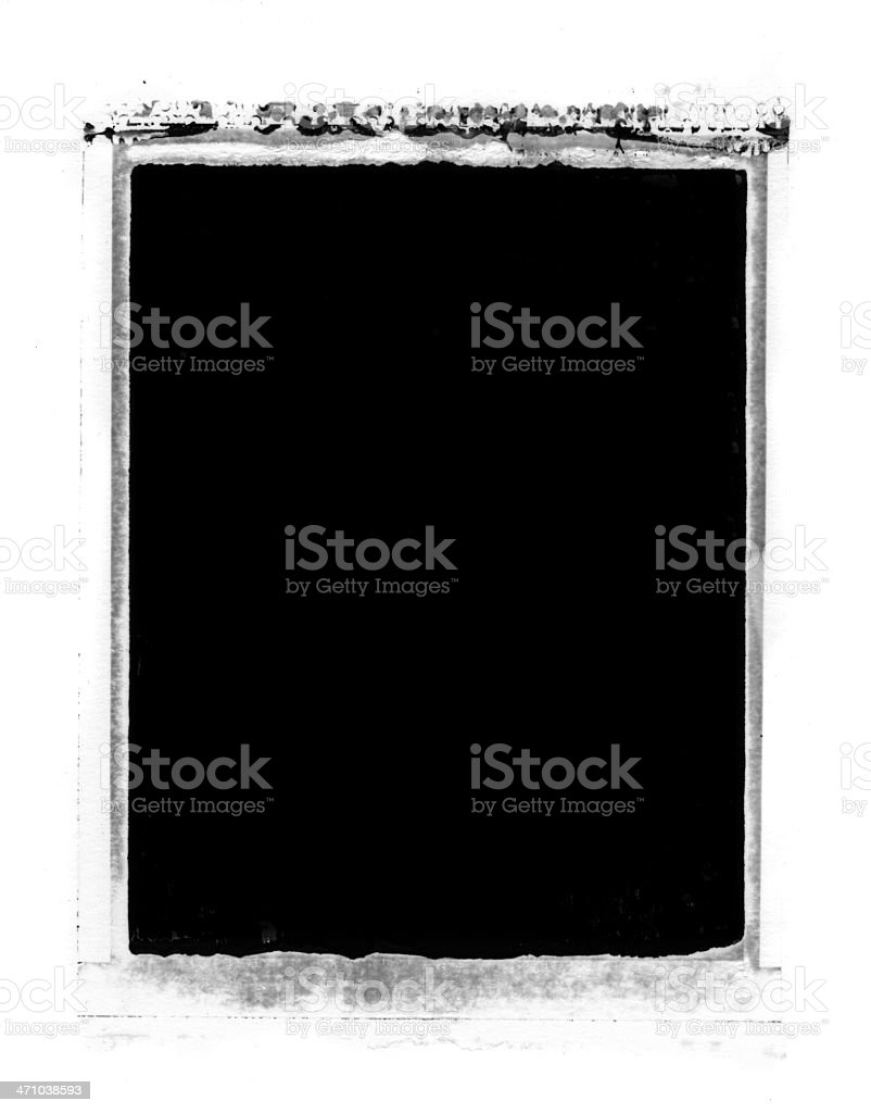 Grunge Image Transfer Background or Frame royalty-free stock photo